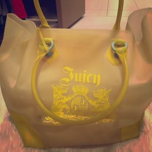 Juicy Couture Plastic Tote